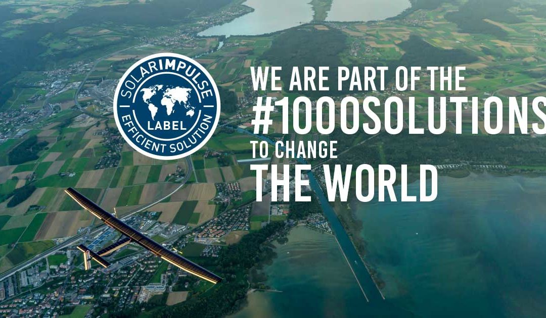 Label « Solar Impulse – Efficient Solution »